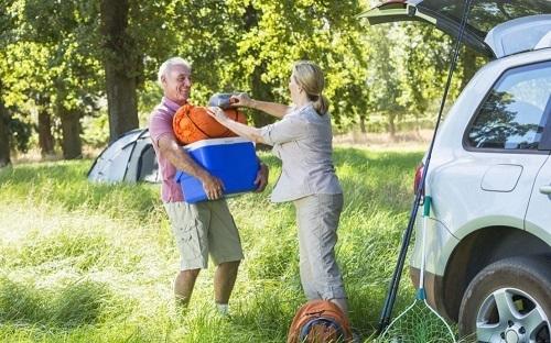 Glacière-électrique utilisation camping